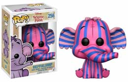 WINNIE THE POOH FUNKO POP! HEFFALUMP PINK AND BLUE