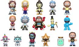 Photo du produit MYSTERY MINI RICK ET MORTY 12 FIGURINES + PRESENTOIR Photo 1