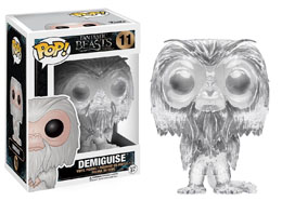 FANTASTIC BEASTS FUNKO POP INVISIBLE DEMIGUISE LIMITED EDITION