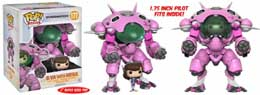 FUNKO POP OVERWATCH D.VA WITH MEKA OVERSIZED 15 CM