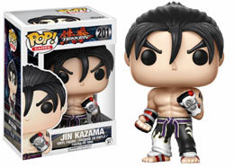 FUNKO POP TEKKEN JIN KAZAMA B&W LIMITED EDITION