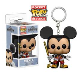 PORTE-CLE KINGDOM HEARTS POCKET POP MICKEY