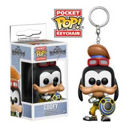 PORTE-CLE KINGDOM HEARTS POCKET POP GOOFY