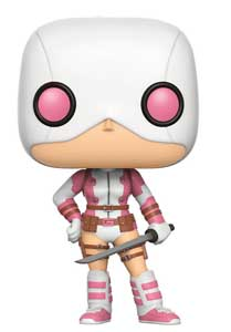 MARVEL COMICS FUNKO POP! GWENPOOL MASKED WITH SWORD