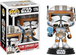 STAR WARS FUNKO POP CLONE COMMANDER CODY LIMITED EDITION