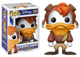 DARKWING DUCK FIGURINE FUNKO POP LAUNCHPAD MCQUACK