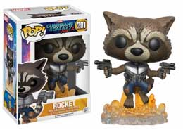 LES GARDIENS DE LA GALAXIE VOL. 2FIGURINE FUNKO POP ROCKET RACCOON