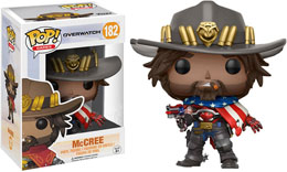 FUNKO POP OVERWATCH USA MCCREE LIMITED EDITION
