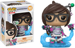 Photo du produit FUNKO POP OVERWATCH MEI SNOWBALL COLOUR