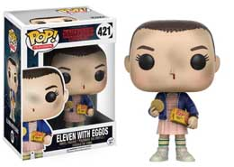 FIGURINE FUNKO POP STRANGER THINGS ELEVEN WITH EGGOS