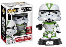 STAR WARS CELEBRATION FUNKO POP 442 CLONE TROOPER