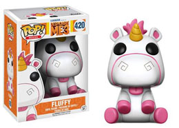 MOI, MOCHE ET MECHANT 3 FUNKO POP FLUFFY