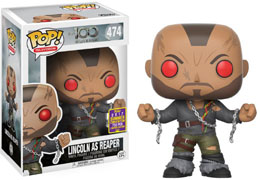 SDCC 2017 FUNKO POP THE 100: REAPER LINCOLN EXCLUSIVE - THE 100