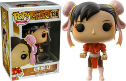 FUNKO POP STREET FIGHTER CHUN-LI RED PANTS LIMITED EDITION