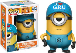 MOI, MOCHE ET MECHANT 3 FUNKO POP I HEART GRU MEL