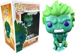 FUNKO POP STREET FIGHTER BLANKA GREEN