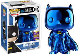 SDCC 2017 FUNKO POP BLUE CHROME BATMAN EXCLUSIVE - BATMAN