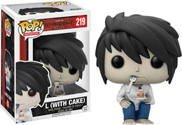 FUNKO POP DEATH NOTE L WITH CAKE LIMITED EDITION