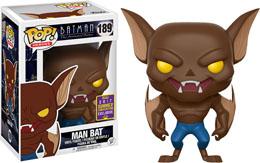 FUNKO POP MAN-BAT DC BATMAN ANIMATED SDCC
