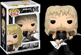 Photo du produit FUNKO POP METALLICA JAMES HETFIELD