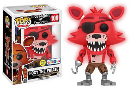 FUNKO POP FOXY THE PIRATE GITD LIMITED EDITION