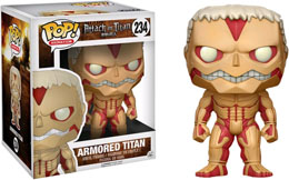 ATTACK ON TITAN FUNKO POP ARMORED TITAN 15 CM