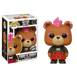FIGURINE BUILD A BEAR FUNKO POP FURRY N' FIERCE