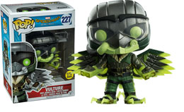 Photo du produit FUNKO POP VULTURE GITD - SPIDER-MAN HOMECOMING Photo 1