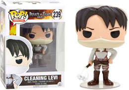 FUNKO POP CLEANING LEVI LIMITED EDITION - L'ATTAQUE DES TITANS