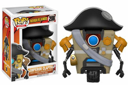 FUNKO POP BORDERLANDS EMPEROR CLAPTRAP