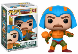 SPECIALTY SERIES FUNKO POP MASTERS OF THE UNIVERSE MAN-AT-ARMS