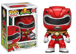 POWER RANGERS FIGURINE POP! DRAGON SHIELD RED RANGER