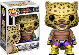 TEKKEN FUNKO POP TEKKEN KING CAPED