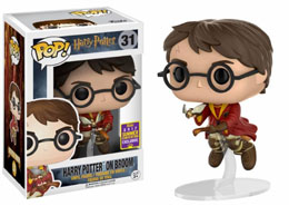 SDCC 2017 FUNKO POP HARRY POTTER ON BROOM EXCLUSIVE - HARRY POTTER