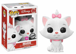 DISNEY LES ARISTOCHATS FUNKO POP! MARIE FLOCKED EXCLUSIVE VERSION