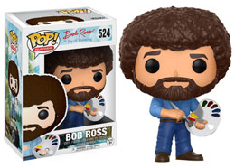 THE JOY OF PAINTING FIGURINE POP! BOB ROSS
