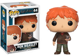 HARRY POTTER FUNKO POP RON WEASLEY WITH SCABBERS