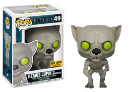 FIGURINE FUNKO POP HARRY POTTER REMUS LUPIN WEREWOLF EXCLUSIVE