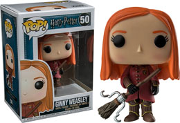HARRY POTTER FUNKO POP GINNY QUIDDITCH ROBES EXCLUSIVE