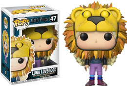 HARRY POTTER FUNKO POP LUNA LOVEGOOD WITH LION'S HEAD