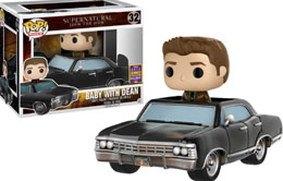 SDCC 2017 FUNKO POP DEAN & BABY SUPERNATURAL EXCLUSIVE - SUPERNATURAL