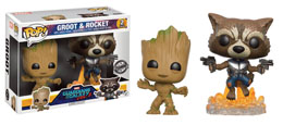 PACK EXCLUSIF GARDIENS DE LA GALAXIE 2 YOUNG GROOT & ROCKET RACCON