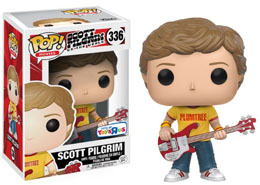 SCOTT PILGRIM FUNKO POP SCOTT PLUMTREE TEE EXCLUSIVE TO TOYS R US (SAN DIEGO COMIC CON)