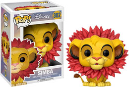 FUNKO POP DISNEY LE ROI LION SIMBA LEAF MANE