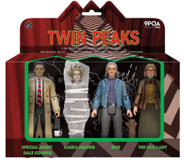 FUNKO REACTION TWIN PEAKS PACK 4 FIGURINES 10 CM