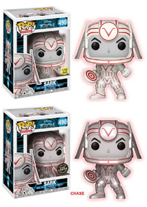 PACK FUNKO POP TRON SARK (5 + 1 CHASE)
