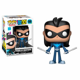 FIGURINE FUNKO POP TEEN TITANS GO! ROBIN AS NIGHTWING