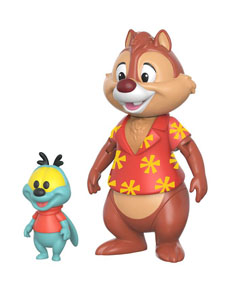 DISNEY TIC ET TAC FIGURINE REACTION TAC 7 CM