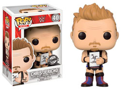 WWE WRESTLING FUNKO POP CHRIS JERICHO