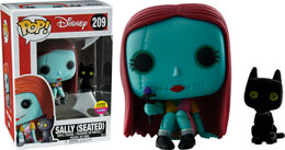 NBX FUNKO POP GITD SEATED SALLY WITH CAT EXCLUSIVE